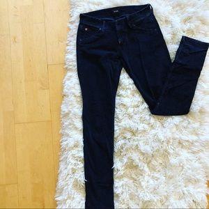 Dark blue corduroy pants